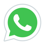 Be in touch quickly via WhatsApp
